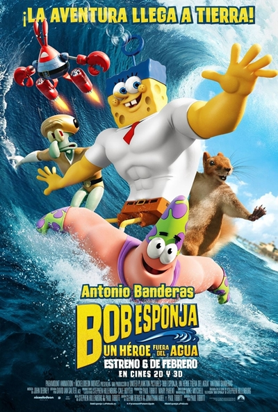 Cartel de Bob Esponja: Un h�roe fuera del agua (SpongeBob: Sponge Out of Water)