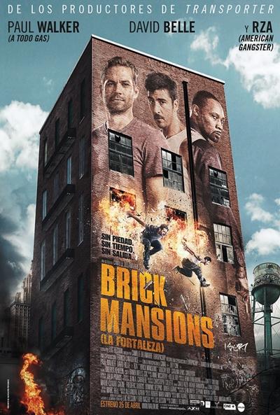 Cartel de Brick Mansions (La fortaleza) (Brick Mansions)