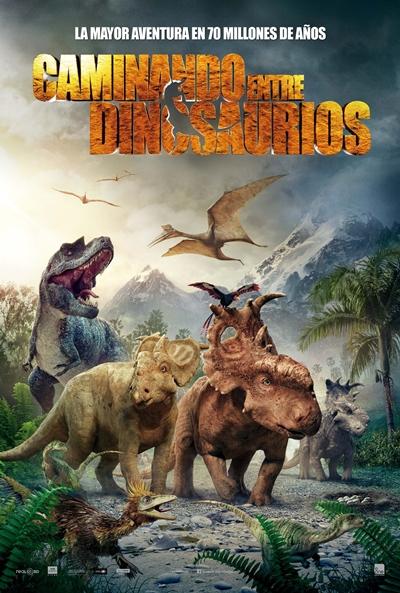 Cartel de Caminando entre dinosaurios (Walking With Dinosaurs)
