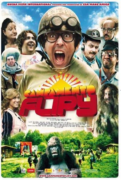 Cartel de Campamento Flipy (Campamento Flipy)