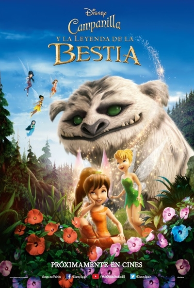 Cartel de Campanilla y la leyenda de la bestia (Tinker Bell and the Legend of the NeverBeast )