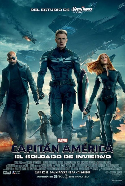 Cartel de Capitán América: El soldado de invierno (Captain America: The Winter Soldier)