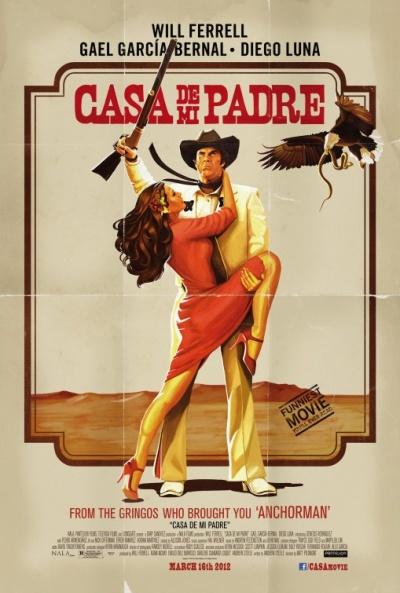 Póster de Casa de mi Padre (House of my Father)