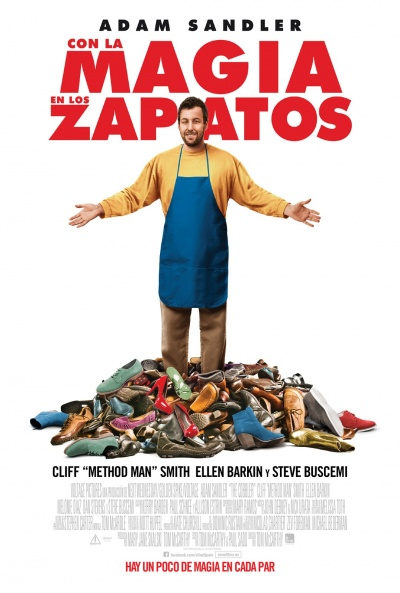 Cartel de Con la magia en los zapatos (The Cobbler)