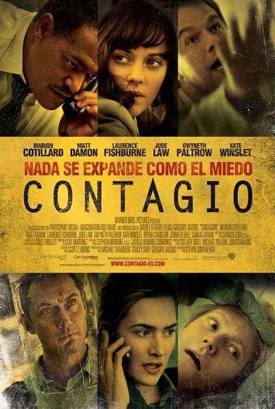 Cartel de Contagio (Contagion)