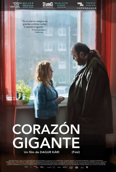 Cartel de Corazón gigante (Fúsi (Virgin Mountain))
