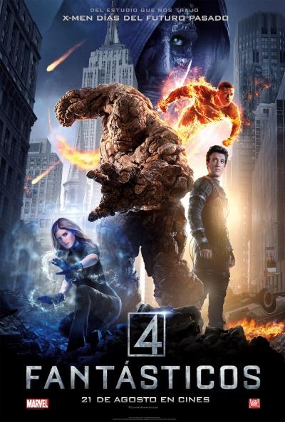 Cartel de Cuatro Fantásticos (Fantastic Four)
