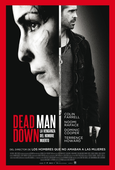 Cartel de Dead Man Down (La venganza del hombre muerto) (Dead Man Down)