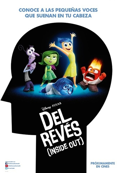 Cartel de Del revés (Inside Out) (Inside Out)