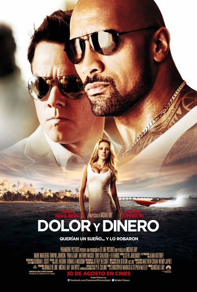 Cartel de Dolor y dinero (Pain & Gain)