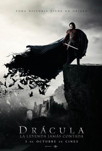 Cartel de Drácula: La leyenda jamás contada (Dracula Untold)