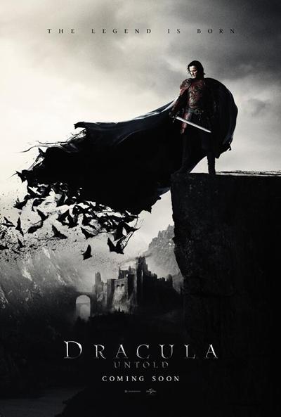 Cartel de Dr�cula: La leyenda jam�s contada (Dracula Untold)