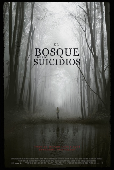 Cartel de El bosque de los suicidios (The Forest)