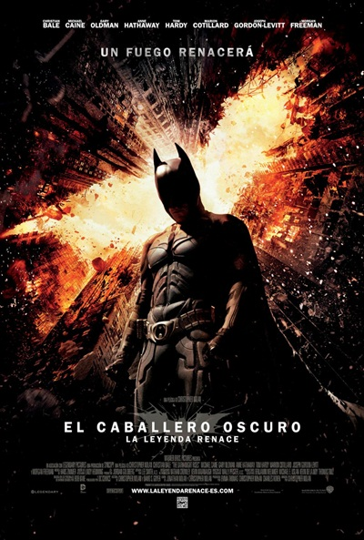 Cartel de El caballero oscuro: La leyenda renace (The Dark Knight Rises)