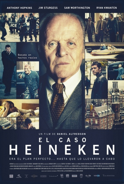 Cartel de El caso Heineken (Kidnapping Mr. Heineken)