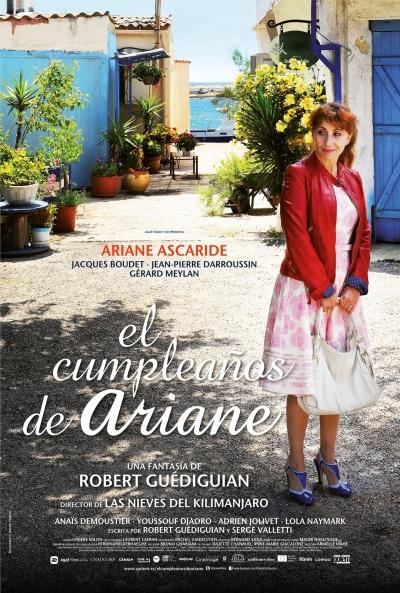 Cartel de El cumpleaños de Ariane (Au fil d'Ariane)