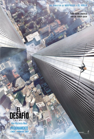 Cartel de El desafío (The Walk) (The Walk)
