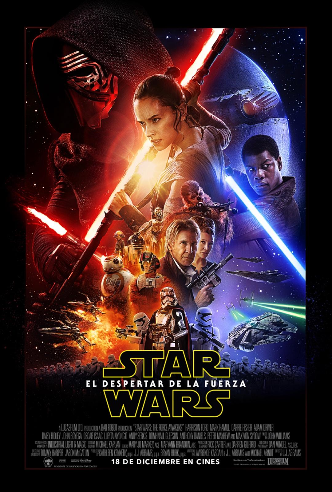 poster star wars el despertar de la fuerza