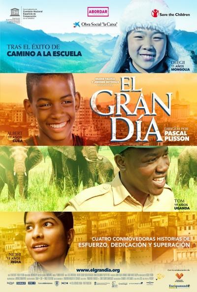 Cartel de El gran día (Le grand jour)
