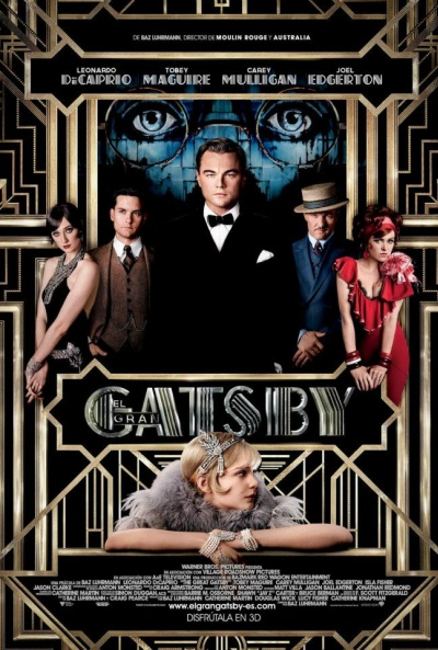 Cartel de El Gran Gatsby 3D (The Great Gatsby)
