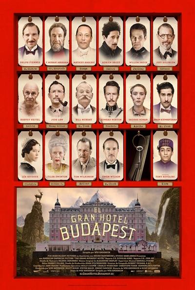 El Gran Hotel Budapest (2014) [Dvdrip] [Latino] [1 Link]
