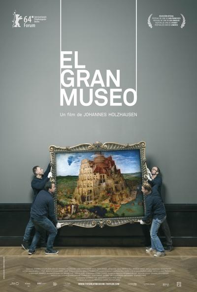 Cartel de El gran museo (Das große Museum)