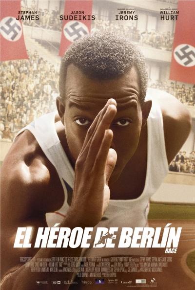 Cartel de El héroe de Berlín (Race)
