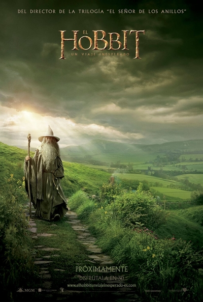Cartel de El Hobbit: Un viaje inesperado (The Hobbit: An Unexpected Journey)