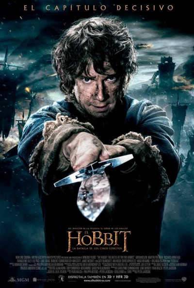 El Hobbit: La Batalla de los Cinco Ejércitos [2014] [BrRip] [1080p] [Latino-Ingles]