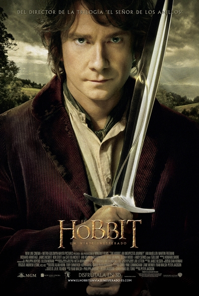 Cartel de El hobbit: Un viaje inesperado (The Hobbit: An Unexpected Journey)