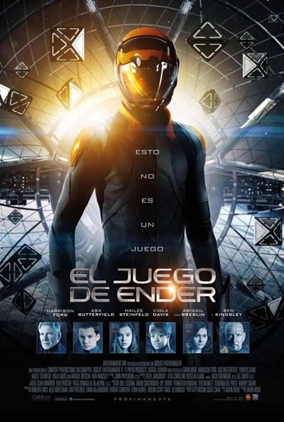 Cartel de El juego de Ender (Ender's Game)