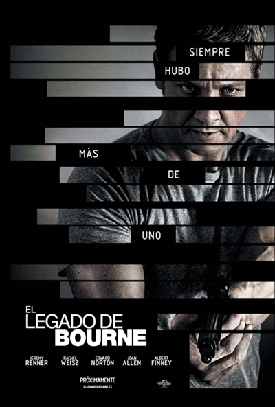 Cartel de El legado de Bourne (The Bourne Legacy)