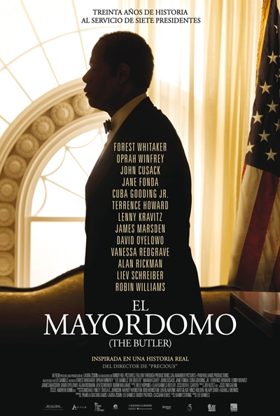 Cartel de El mayordomo (Lee Daniels'  The Butler)