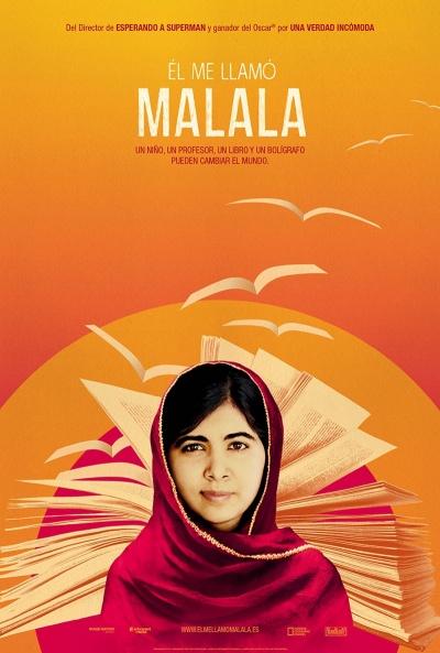 Cartel de Él me llamó Malala (He Named Me Malala)