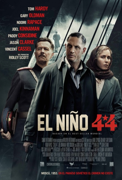 Cartel de El niño 44 (Child 44)