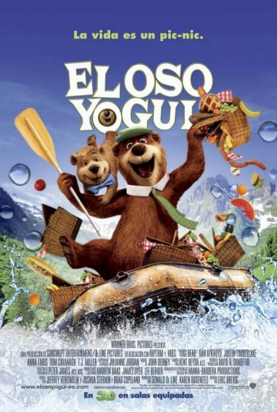 Cartel de El Oso Yogui (Yogi Bear)
