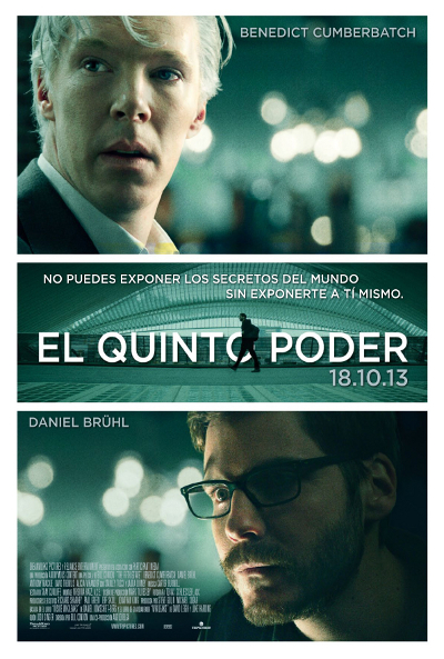 Cartel de El quinto poder (The Fifth Estate)