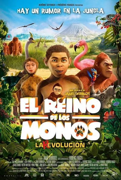 Cartel de El reino de los monos (Pourquoi j'ai pas mangé mon père)