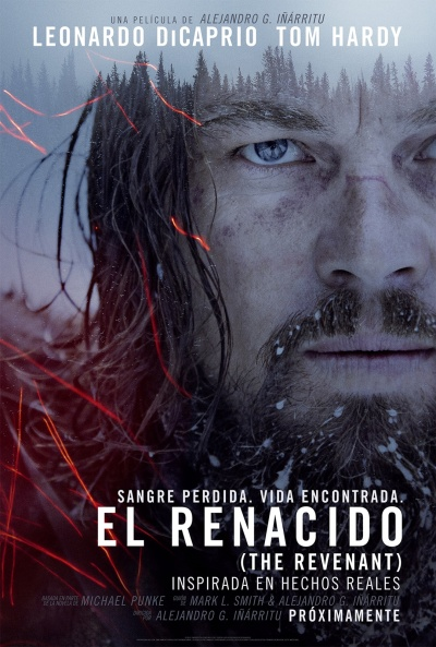 Cartel de El renacido (The Revenant)