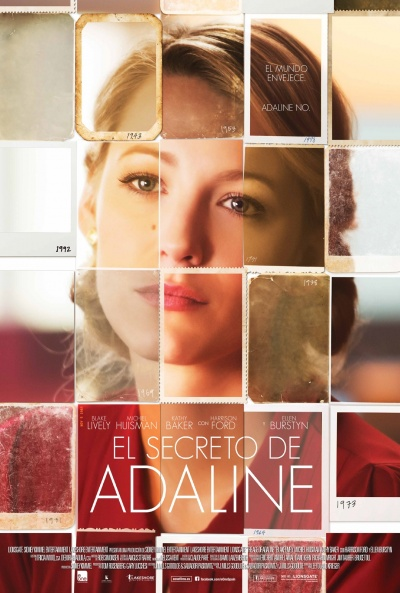 Cartel de El secreto de Adaline (The Age of Adaline)
