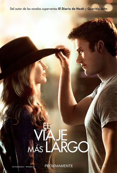 Cartel de El viaje m�s largo (The Longest Ride)