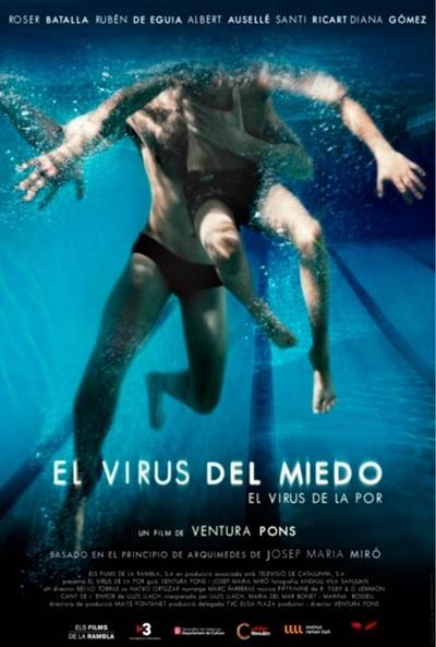 Cartel de El virus del miedo (El virus de la por)