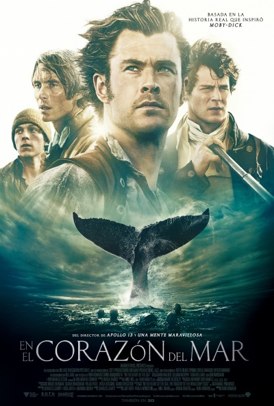 Cartel de En el corazón del mar (In the Heart of the Sea)
