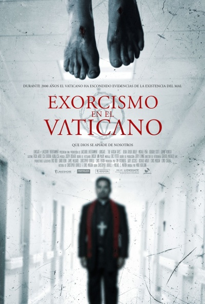 Cartel de Exorcismo en el Vaticano (The Vatican Tapes)