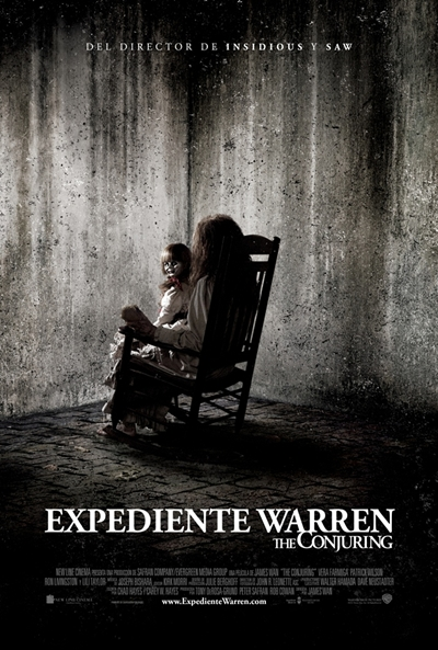 Cartel de Expediente Warren: The Conjuring (The Conjuring)