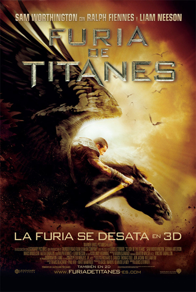 Cartel de Furia de Titanes (Clash of the Titans)