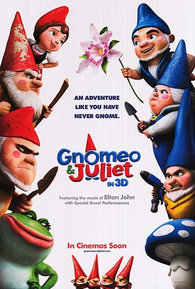 Póster de Gnomeo y Julieta (Gnomeo & Juliet)