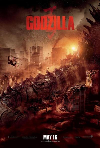 P�ster de Godzilla (Godzilla)