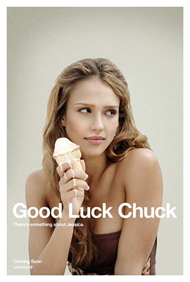 Cartel de Good luck Chuck