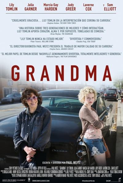 Cartel de Grandma (Grandma )
